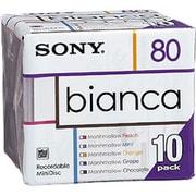 10MDW80BAA [80分ミニディスク 10枚組 bianca(ビアンカ)]