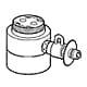 CB-SKE6 [食器洗い乾燥機用分岐栓 KVK製・シングル分岐用]