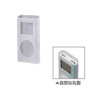 MJ-21 [iPod mini用シリコーンジャケット 丸型 ナチュラル]