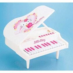 ハローキティ 白いグランドピアノ