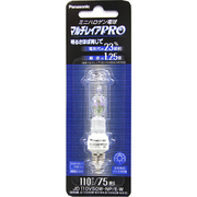JD110V50WNPEW [白熱電球 ハロゲンランプ E11口金 110V 75W形(50W) クリア]