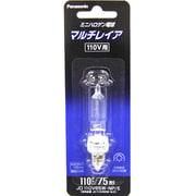 JD110V65WNPE [白熱電球 ハロゲンランプ E11口金 110V 75W形(65W) クリア]