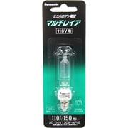 JD110V130WNPE [白熱電球 ハロゲンランプ E11口金 110V 150W形(130W) クリア]