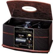GP-S50 [レコード/CD/カセット/ラジオ搭載卓上型ステレオ 昭和・音聴箱]
