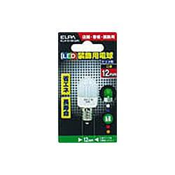 ELN-01B-GR [LED電球 E12口金 グリーン]