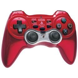 PS2用 アナログ振動パッド2 ターボ  レッド [PS2用]