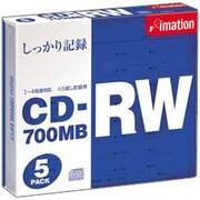 CDRW80S BW×5 [CD-RW 700MB 4倍速対応 5枚]