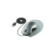 EAM-UD1C [USB・PS/2接続 光学式マウス ワイヤータイプ ザ・フィットマウス(手の匠) シルバー]