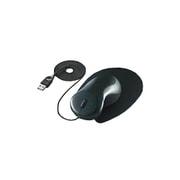 EAM-UD1D [USB・PS/2接続 光学式マウス ワイヤータイプ ザ・フィットマウス(手の匠) ブラック]