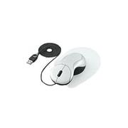 EAM-UD1W [USB・PS/2接続 ザ・フィットマウス「手の匠」 ワイヤータイプ パールホワイト]