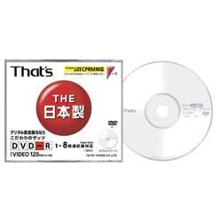DR-C12WTYA [DVD-R 120分 8倍速CPRM対応 1枚]