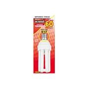 電球形蛍光灯 EFD15EL13E17 ルピカボールE D形・E17口金(電球色) 60W電球タイプ