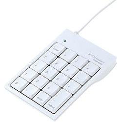 NT-M5UHW [2ポートUSBハブ内蔵 USBテンキー クリアホワイト Mac用]