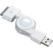 USB-IRL08 [巻き取り式USBケーブルiPod/iPod mini用 0.8m]
