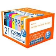 PLE-E217P [エプソンIC7CL21互換インク 7色BOXパック]