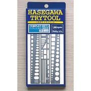 TP-1 [トライツール テンプレートセット 直線定規]
