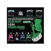 KACA0187 DrumPoint1,2,3,4 Powerd Drums (ドラムポイント1,2,3,4 パワードドラムス) [サンプリング音源]