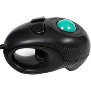 GM-TB001B [USB接続 ハンディートラックボールマウス ブラック]