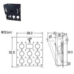 FPT-TA8 [23LC100/26LC100対応 壁掛けチルト金具]