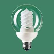 電球形蛍光灯 EFG25EDG20 パルックボールスパイラル G形ガラスクリア・E26口金(パルックday色) 100W電球タイプ