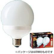 EFG25EL202T [電球形蛍光灯 E26口金 100W電球タイプ (電球色) パルックボールスパイラル G25形 2個入]
