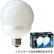 EFG25ED202T [電球形蛍光灯 E26口金 100W電球タイプ (昼光色) パルックボールスパイラル G25形 クール色 2個入]