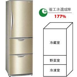 冷蔵庫(365L・右開き)NR-C374MS-S(ロゼステンレス) The ノンフロン冷蔵庫