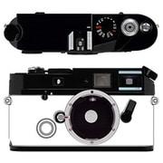 Leica a la carte(ライカ アラカルト) 操作部 ブラックペイント