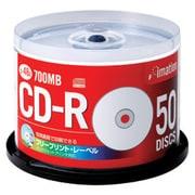 CDR80Z PWR50YBC [CD-R 700MB 48倍速対応 50枚 フリープリントレーベル]