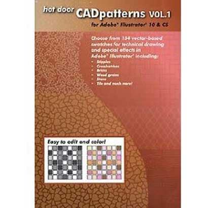 CAD patterns VOL.1 [Windows&Macソフト]
