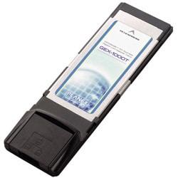 GEX-1000T [1000BASE-T対応 ExpressCard/34接続LANカード]