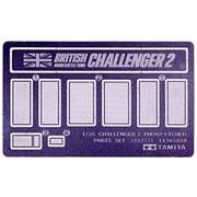 35277 イギリス主力戦車 チャレンジャー2 エッチングパーツセット [1/35 ミリタリーミニチュアシリーズ]