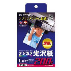 EJK-EPL200 [デジ得用紙エプソン用 印画紙 L判 200枚入]