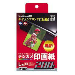 EJK-CPL200 [デジ得用紙キヤノン用 印画紙 L判 200枚入]