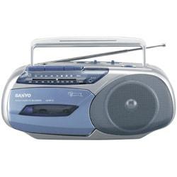 U4-MT12(L:ブルー) [ラジオカセットレコーダー]