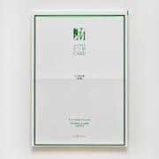 CGW220 A4 2つ折りカード エドコゾメ ハナ [2つ折り カード]