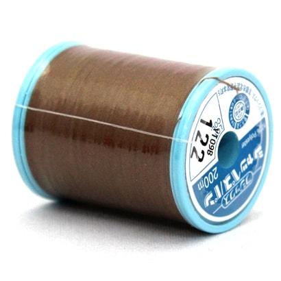 シャッペスパン122 [家庭用糸(60番手200m) 茶(1)]