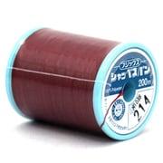 シャッペスパン214 [家庭用糸(60番手200m) 濃赤]