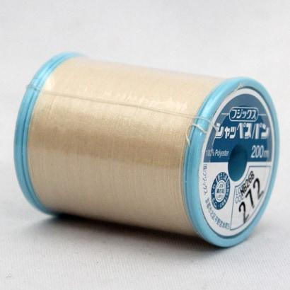 シャッペスパン272 [家庭用糸(60番手200m) ベージュ(8)]