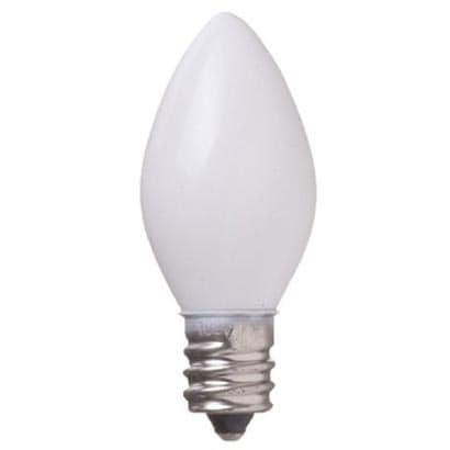 C71208WTENMETU [白熱電球 点滅球 E12口金 8W C7 ホワイト]
