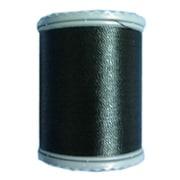 スターミシン刺繍糸402 [家庭用糸(50番手250m) 黒]