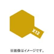 89012 [タミヤ ペイントマーカー X-12 ゴールドリーフ (光沢)]