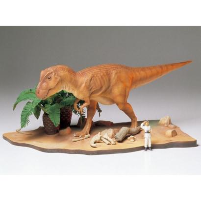 60102 1/35 ティラノサウルス情景セット [1/35 恐竜世界シリーズ]