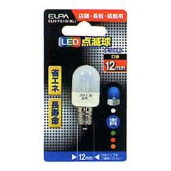 ELN-F01B-BL [LED電球 E12口金 ブルー]