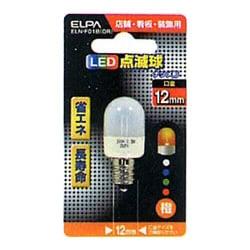 ELN-F01B-OR [LED電球 E12口金 オレンジ]