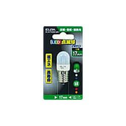 ELN-F02B-GR [LED電球 E17口金 グリーン]