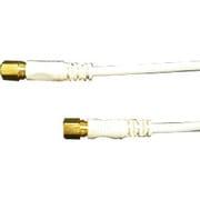 FBT-310 [アンテナケーブル 1m 接栓-接栓 白]
