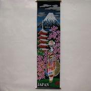 掛け軸 Tapestry [KAKEZIKU Sakura Maiko M 桜舞妓]