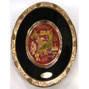 彫金皿 Chokin Plate [サラ200 6inch 金クサラシ 日本R]