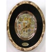 彫金皿 Chokin Plate [サラ200 6inch 金クサラシ 日本IV]